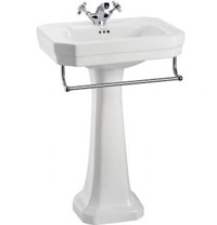 Victorian Medium Basin With Optional Towel Rail
