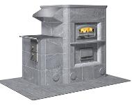HU3400/13 Кухонная печь c духовым шкафом и плитой